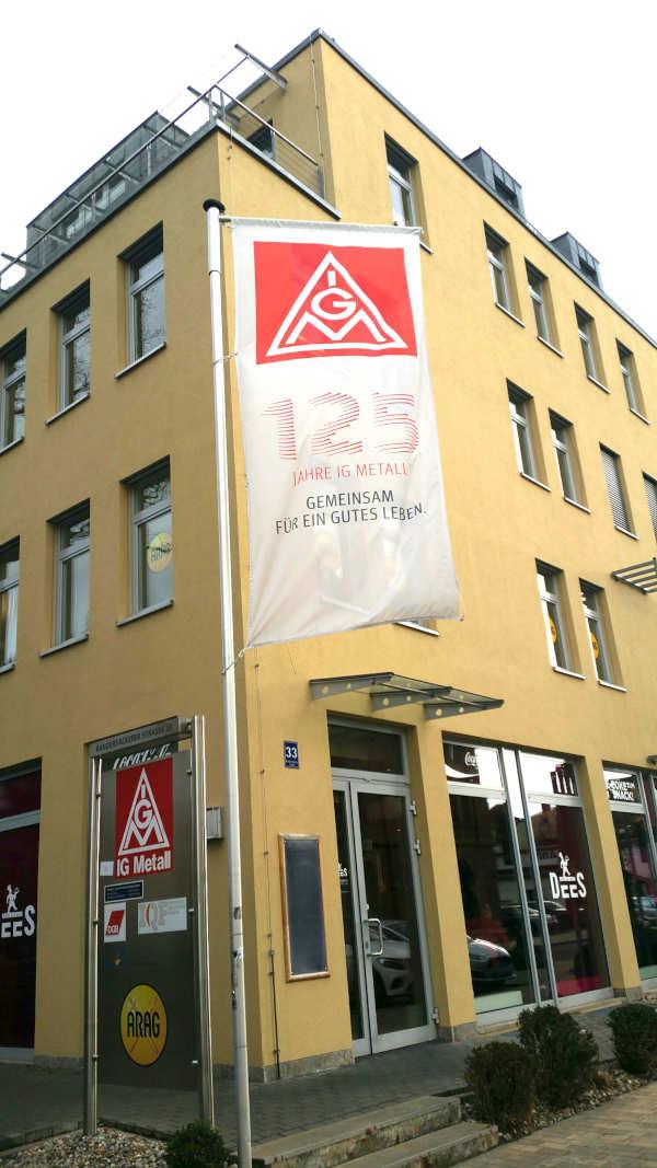 IG Metall Würzburg Geschäftsstelle in der Randesackerer Straße